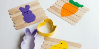 Puzzle de Páscoa DIY
