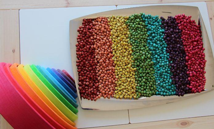 Arco-íris com grão-de-bico-1