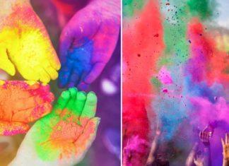 Color Fun Run DIY - Como fazer o lindo pó colorido para festas
