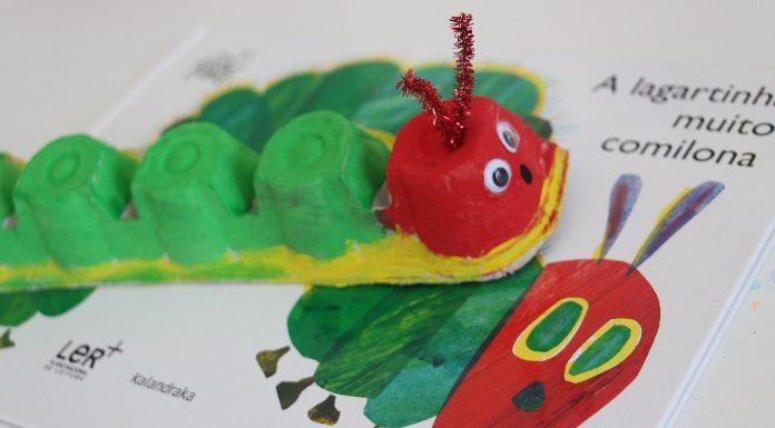 A lagartinha muito comilona-capa