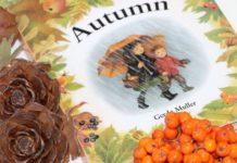 Mesa de outono sensorial