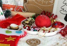 caixa de atividades de natal