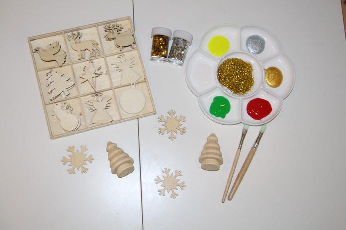 pintar ornamentos natal