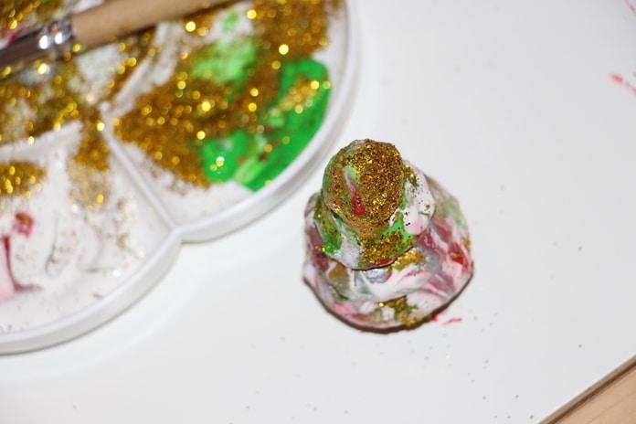 pintar ornamentos natal3