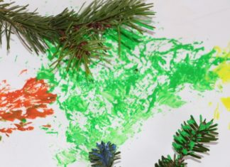 pinturas de natal ramos pinheiro7