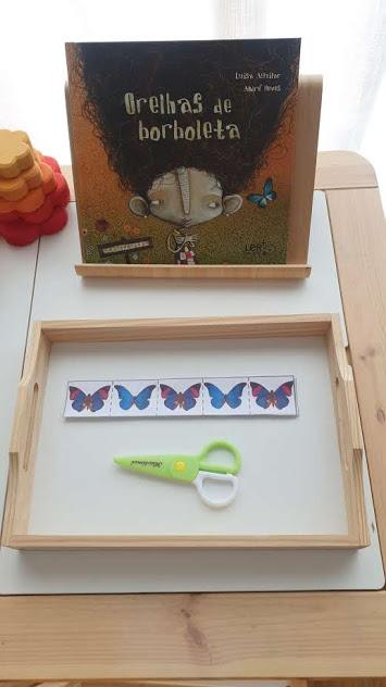 Atividade cortar borboletas