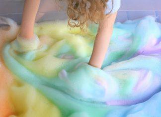 arco-iris de espuma