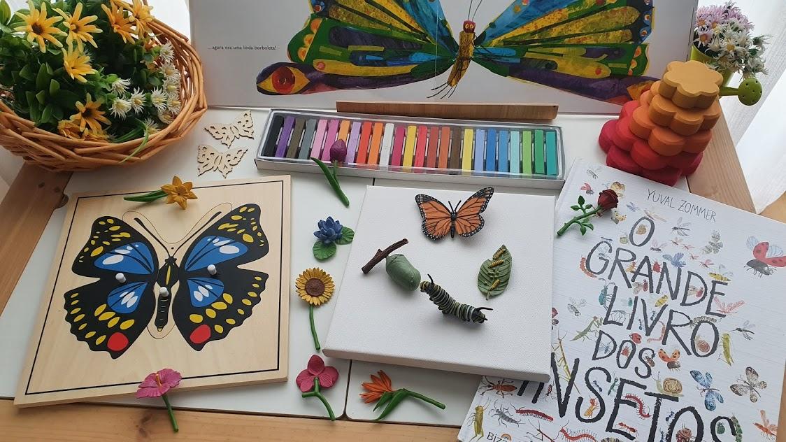 puzzle montessori borboleta