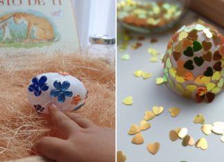atividades de pascoa-decorar ovos plastico-capa