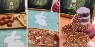 coelho cascas ovos-capa